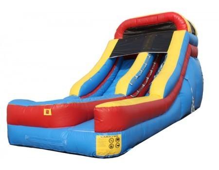 (A) 14ft Screamer Water/Dry Slide