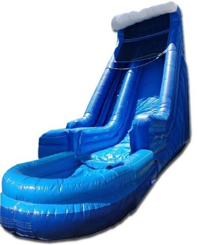 (B) 18ft Screamer Wet/Dry Slide