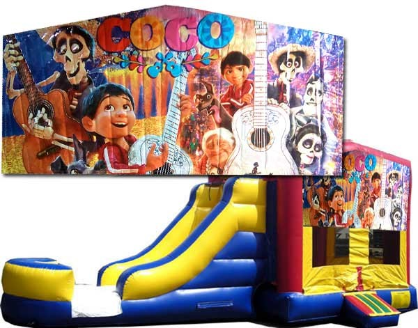 (C) Coco Bounce Slide combo (Wet or Dry)