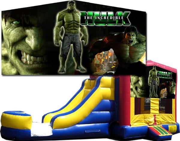(C) Hulk Bounce Slide combo (Wet or Dry)