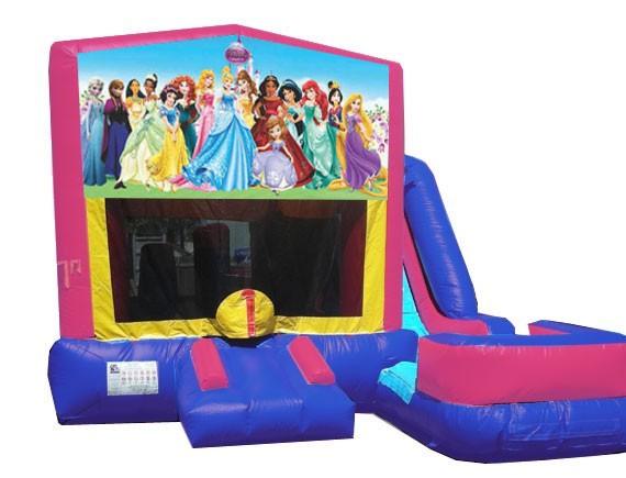 (C) Disney Princess 7N1 Bounce Slide combo (Wet or Dry)