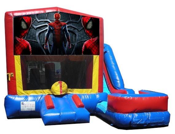(C) Spider-Man 7N1 Bounce Slide combo (Wet or Dry)