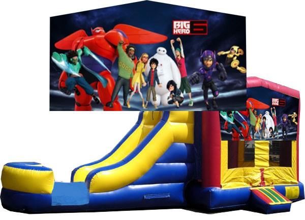 (C) Big Hero 6 Bounce Slide combo (Wet or Dry)