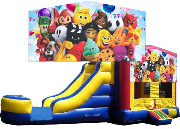 (C) Emoji Bounce Slide combo (Wet or Dry)
