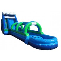 (D) 24ft Hurricane Water Slide
