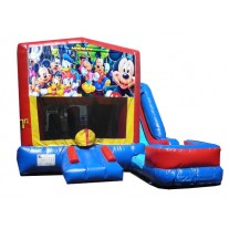(C) Mickey Mouse and Friends 7N1 Bounce Slide combo (Wet or Dry)