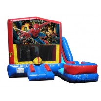 (C) Spider-Man 7N1 Bounce Slide combo (Wet or Dry)