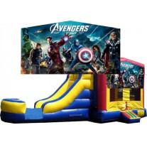 (C) Avengers Bounce Slide combo (Wet or Dry)