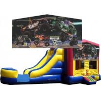 (C) Monster Truck Banner Bounce Slide combo