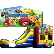 (C) Angry Birds Bounce Slide combo (Wet or Dry)-