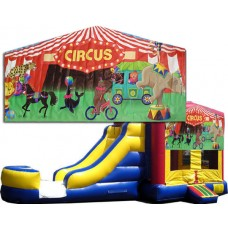 (C) Circus Bounce Slide combo (Wet or Dry)