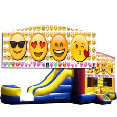 (C) Emoji Bounce Slide combo (Wet or Dry)