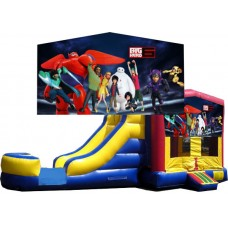 (C) Big Hero 6 Bounce Slide combo (Wet or Dry)