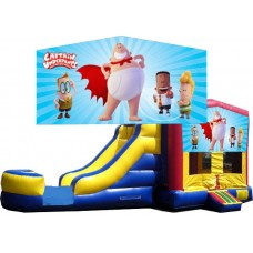(C) Captain Underpants Bounce Slide combo (Wet or Dry)