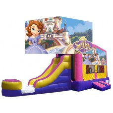 (C) Sofia the First Bounce Slide combo (Wet or Dry)