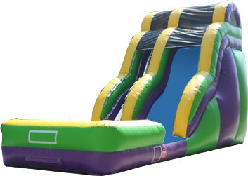 (B) 18ft Wave Wild Rapids Dry Slide