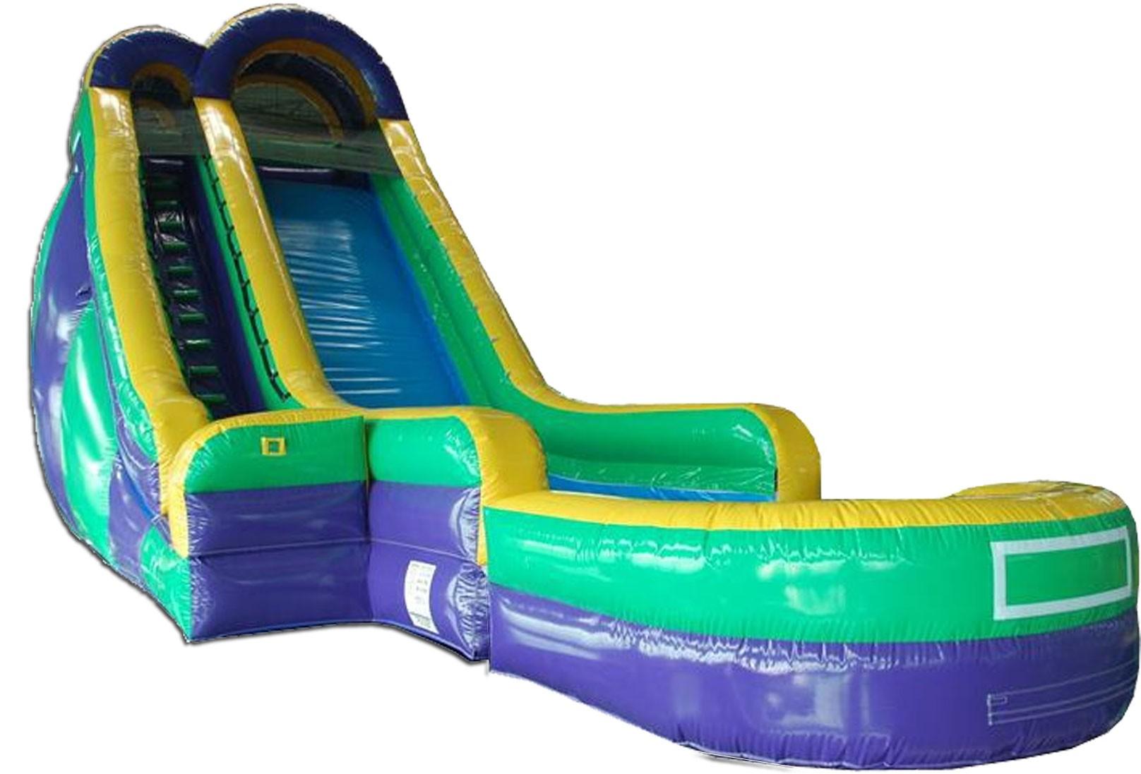 (B) 24ft Screamer Dry Slide