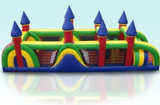 (B) 40ft Castle Obstacle Course