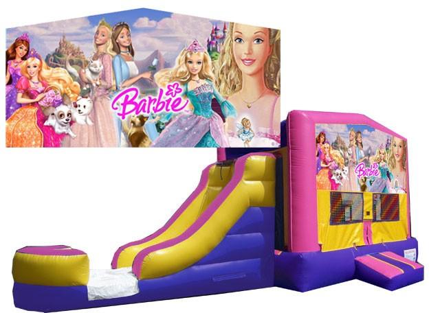 (C) Barbie Bounce Slide combo (Wet or Dry)