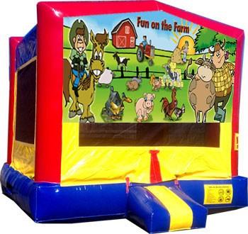 (C) Fun on the Farm Moonwalk