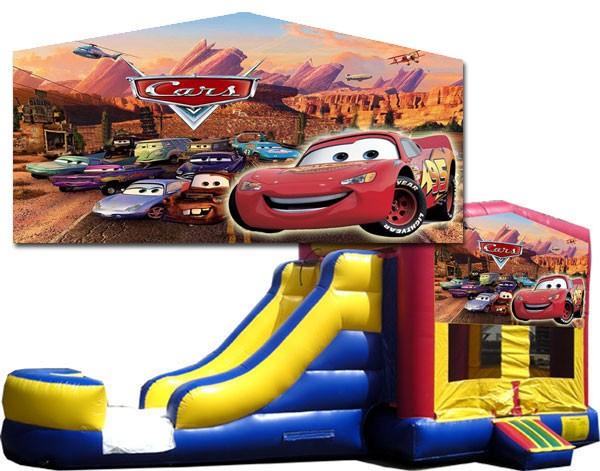 (C) Cars Bounce Slide combo (Wet or Dry)