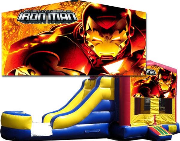 (C) Iron Man Bounce Slide combo (Wet or Dry)