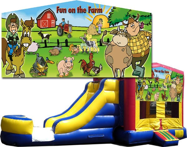(C) Fun on the Farm 2 Lane combo (Wet or Dry)