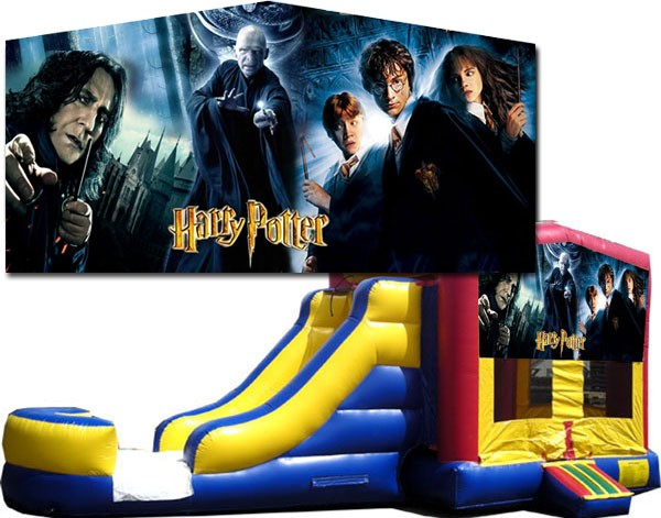(C) Harry Potter Bounce Slide combo (Wet or Dry)