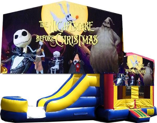 (C) Nightmare Before Christmas  Bounce Slide combo (Wet or Dry)