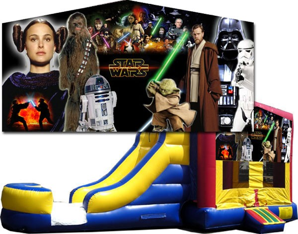 (C) Star Wars Bounce Slide combo (Wet or Dry)