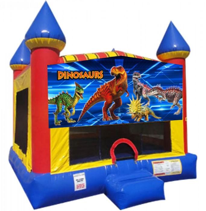 (C) Dinosaurs Moonwalk