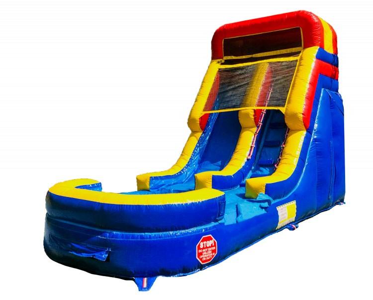 (A) 14ft Screamer Wet/Dry Slide