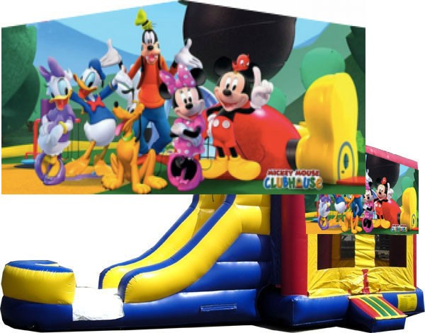(C) Mickey Mouse Clubhouse 2 Lane combo (Wet or Dry)