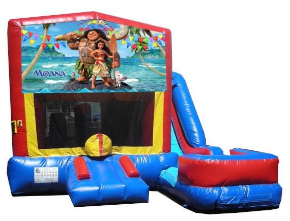 (C) Moana 7n1 Bounce Slide combo (Wet or Dry)