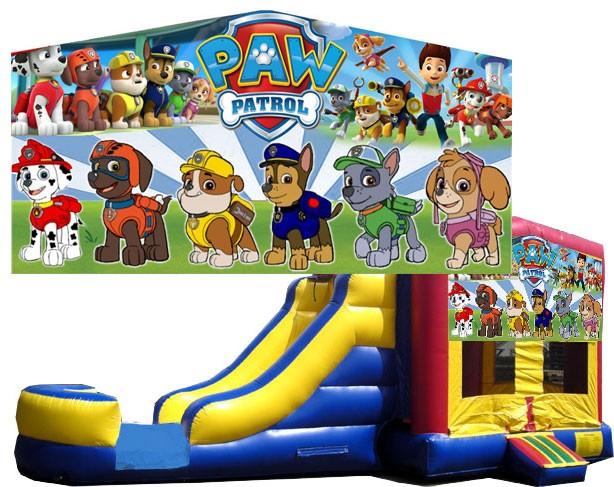 (C) Paw Patrol Bounce Slide combo (Wet or Dry)