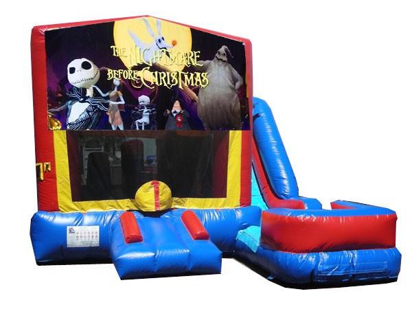 (C) Nightmare Before Christmas 7N1 Bounce Slide combo (Wet or Dry)