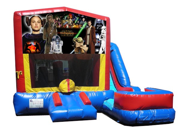 (C) Star Wars 7N1 Bounce Slide combo (Wet or Dry)
