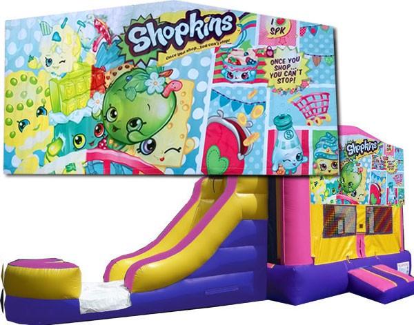 (C) Shopkins Bounce Slide combo (Wet or Dry)