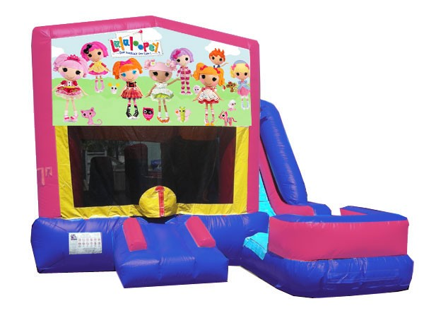 (C) Lalaloopsy 7N1 Bounce Slide combo (Wet or Dry)