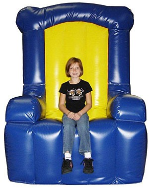 (B) Inflatable Chair