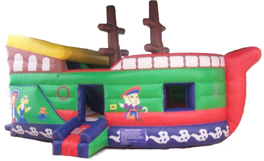 (B) 12ft Pirate Slide/ Jump Combo (Dry only)