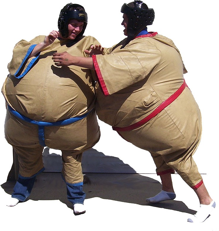 (A1) Adult Inflatable Sumo