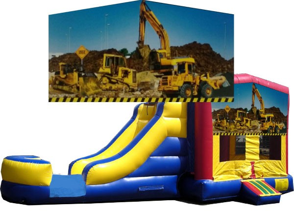 (C) Construction Bounce Slide combo (Wet or Dry)