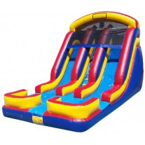 (C) 18ft Twin Torpedo Wet/Dry Slide