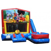 (C) Mickey Mouse Clubhouse 7N1 Bounce Slide combo (Wet or Dry)
