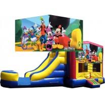 (C) Mickey & Friends Bounce Slide Combo