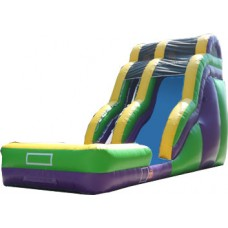 (D) 24ft Wave Wild Rapids Wet/Dry Slide