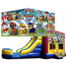 (C) Paw Patrol Bounce Slide combo (Wet or Dry)