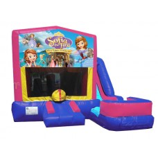 (C) Sofia the First 7N1 Bounce Slide combo (Wet or Dry)