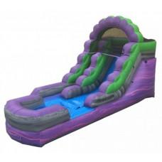 (A) 14ft Purple Crush Wet/Dry Slide